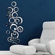 Calcomanías Decorativas de Pared - Adhesivos de Pared Espejo Espejos Sala de estar Dormitorio Baño Cocina Comedor Habitación de estudio /