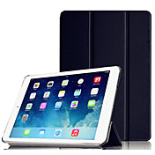 Etui Til Apple iPad Air med stativ Autodvale / aktivasjon Origami Heldekkende etui Helfarge Hard PC til iPad Air Apple