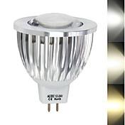 450-680 lm Focos LED MR16 1led leds COB Blanco Cálido Blanco Fresco AC 12V DC 12V