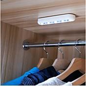 Natt Lys LED- Leselampe Hvit ABS Ingen Batterier Inkludert