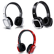 DF-S003 - Bluetooth - Hodetelefoner (hodebånd) - Med mikrofon - Medie Player/Tablet/Mobiltelefon/Computer