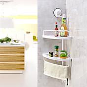Hylle til badeværelset Høy kvalitet Moderne Plast 1 stk - Hotell bad Vægmonteret