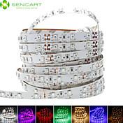 SENCART Fleksible LED-lysstriper 60 LED Varm hvit Hvit Lilla Grønn Gul Blå Rød Kuttbar Mulighet for demping Selvklebende Passer for