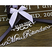 Novia Dama de Honor Chica de Flor Pareja Madera Aluminum Alloy Regalo Creativo Boda