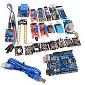 20 en 1 sensor de módulo de placa ATmega328P r3 kit de módulo y versión mejorada uno para Arduino