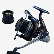 Carrete de la pesca Carretes para pesca spinning 4.1:1 14 Rodamientos de bolas Intercambiable Pesca de Mar Pesca al spinning Pesca