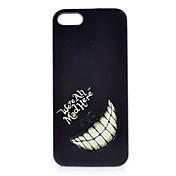 검은 이빨 패턴 pc 소재 아이폰 5c 아이폰 케이스에 대 한 전화 케이스