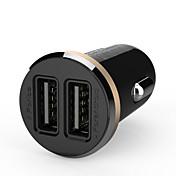ldnio® 12v ~ 24v dual usb billader sikkerhet spenning for iphone / samsung og andre (5V-2.1a)