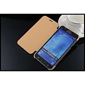 Para Funda Samsung Galaxy Carcasa Funda Cuerpo Entero Funda Color sólido Cuero Sintético para Samsung J7