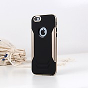 Para Funda iPhone 6 / Funda iPhone 6 Plus Antigolpes Funda Cubierta Trasera Funda Un Color Suave TPU iPhone 6s Plus/6 Plus / iPhone 6s/6