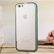 Para Funda iPhone 6 / Funda iPhone 6 Plus Antigolpes Funda Cubierta Trasera Funda Un Color Dura Metal iPhone 6s Plus/6 Plus / iPhone 6s/6