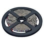 10m Cuerdas de Luces 600 LED 3528 SMD Blanco Cálido / Blanco Cortable / Conectable / Adecuadas para Vehículos 12 V / Auto-Adhesivas