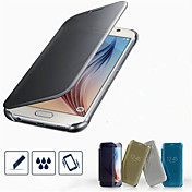 Funda Para Samsung Galaxy Funda Samsung Galaxy Cromado Funda de Cuerpo Entero Color sólido ordenador personal para S7 edge S7 S6 edge