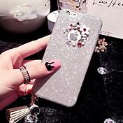 caso lady®elegant / lujo / personalidad de teléfono para el iphone 6 más / 6s más (5,5 pulgadas), decorado con diamantes de camelia