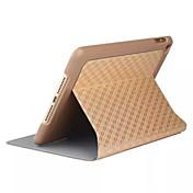 Etui Til iPad Mini 4 med stativ Autodvale / aktivasjon Heldekkende etui Geometrisk mønster PU Leather til iPad Mini 4