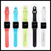 시계 밴드 용 Apple Watch Series 3 / 2 / 1 Apple 손목 스트랩 스포츠 밴드