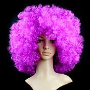 Syntetiske parykker Bølget Afro tetthet Lokkløs Dame Kort Syntetisk hår