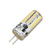 2W 100-200 lm G4 LED-kornpærer T 48 leds SMD 3014 Varm hvit AC 12V