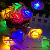 20 lámpara de rosa de la batería cuadro Cadena de lámpara