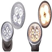 4W GU10 GU5.3(MR16) E26/E27 LED 스팟 조명 MR16 4 SMD 400 lm 따뜻한 화이트 내추럴 화이트 장식 AC 12 V 1개