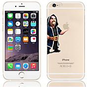 Funda Para Apple iPhone 6 Plus / iPhone 6 Transparente / Diseños Funda Trasera Logo Playing With Apple Dura ordenador personal para iPhone 6s Plus / iPhone 6s / iPhone 6 Plus