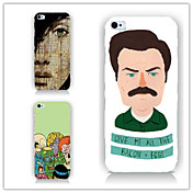 Funda Para Apple iPhone 6 iPhone 6 Plus Diseños Funda Trasera Caricatura Dura ordenador personal para iPhone 6s Plus iPhone 6s iPhone 6