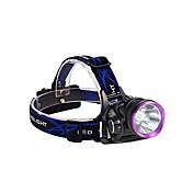 3Mode Linternas de Cabeza / Luces para bicicleta LED 2000lm 3 Modo de Iluminación con pilas y cargadores Resistente a Golpes / Recargable