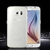Para Funda Samsung Galaxy Ultrafina / Transparente Funda Cubierta Trasera Funda Un Color TPU SamsungS6 edge plus / S6 edge / S6 / S5 Mini