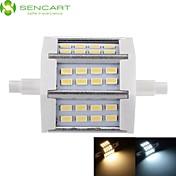 5W R7S Focos LED Luces Empotradas 24 leds SMD 5730 Regulable Blanco Cálido Blanco Fresco 450-500lm 3000-3500  6000-6500K AC 85-265V