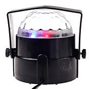 술집 단계 미니 크리스탈 공 램프 무대 램프 음성 제어 화려한 무대 조명 소품
