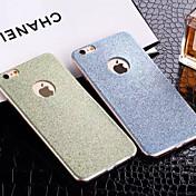 Etui Til Apple iPhone 8 iPhone 8 Plus iPhone 6 iPhone 6 Plus iPhone 7 Plus iPhone 7 Mønster Bakdeksel Glimtende Glitter Myk TPU til