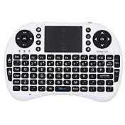 mini i8 trådløs 2,4 tastaturet touchpad tastatur mini air flyr trådløst tastatur og mus