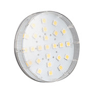 4w gx53 led spotlight 25 smd 5050 180-200lm blanco cálido 2800k ca 220-240v 1pieza