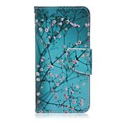 Etui Til LG LG Nexus 5X Etui til LG Kortholder Lommebok med stativ Flipp Heldekkende etui Blomsternål i krystall Hard PU Leather til