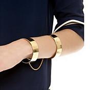 Mujer Pulseras de la vendimia Legierung Moda Dorado Joyas 1 pieza