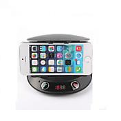 리모콘 블루투스 2.1 핸즈프리 자동차 키트 휴대 전화 홀더&MP3 플레이어&FM 송신기&스피커&변화&TF