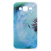 Etui Til Samsung Galaxy Samsung Galaxy Etui IMD Bakdeksel løvetann TPU til J5 J3 J1