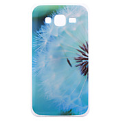 Funda Para Samsung Galaxy Funda Samsung Galaxy IMD Funda Trasera Diente de león TPU para J5 J3 J1