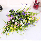 Flores Artificiales 1 Rama Estilo Simple Orquídea Flor de Mesa