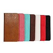 용 삼성 갤럭시 케이스 지갑 / 카드 홀더 / 스탠드 / 플립 케이스 풀 바디 케이스 기하학 패턴 인조 가죽 Samsung S6 edge plus