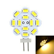 G4 Luces LED de Doble Pin Luces Empotradas 12 leds SMD 5730 Decorativa Blanco Cálido Blanco Fresco 200-300lm 3500/6500K DC 12 AC 12V
