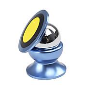 sostenedor del teléfono móvil del imán 360 grados de mini soporte para el automóvil tablero magnético kit de coche móvil del sostenedor