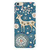 la cáscara del teléfono del diamante del ciervo pintó las relevaciones para las cajas del iphone6 / 6s iphone