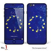 """iPhone 6 / 6s cuerpo adhesivo del arte: """"UE, Unión Europea, Irlanda, Polonia, Países Bajos, Holanda"""" (Serie de indicadores)"""