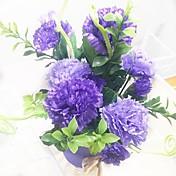 1 Gren Silke Plastikk Syrin Bordblomst Kunstige blomster