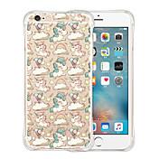 Funda Para Apple iPhone 6 iPhone 6 Plus Antigolpes Transparente Diseños Funda Trasera Unicornio Suave Silicona para iPhone 6s Plus iPhone