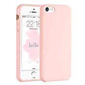 Etui Til Apple iPhone 6 iPhone 6 Plus Annen Bakdeksel Helfarge Myk TPU til iPhone 6s Plus iPhone 6s iPhone 6 Plus iPhone 6 iPhone SE/5s