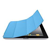 Funda Para iPad 4/3/2 Un Color folio del caso Activación al abrir/Reposo al cerrar Diseño Especial Cuero de PU para