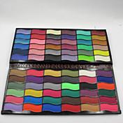 72 Colors Paleta de Sombras de Ojos Brillo Paleta de sombra de ojos Polvo Conjunto Maquillaje de Diario / Maquillaje de Hada