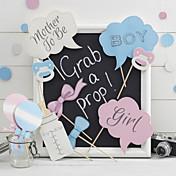 Baby Shower Papel duro Decoraciones de la boda Tema Clásico